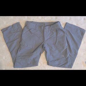 North Face Convertible Hiking Pants